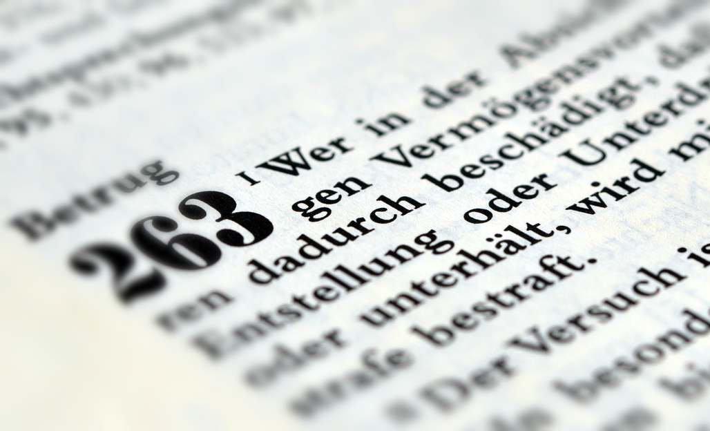 """Warenkreditbetrug ist """"normaler"""" Betrug gem. § 263 StGB"""