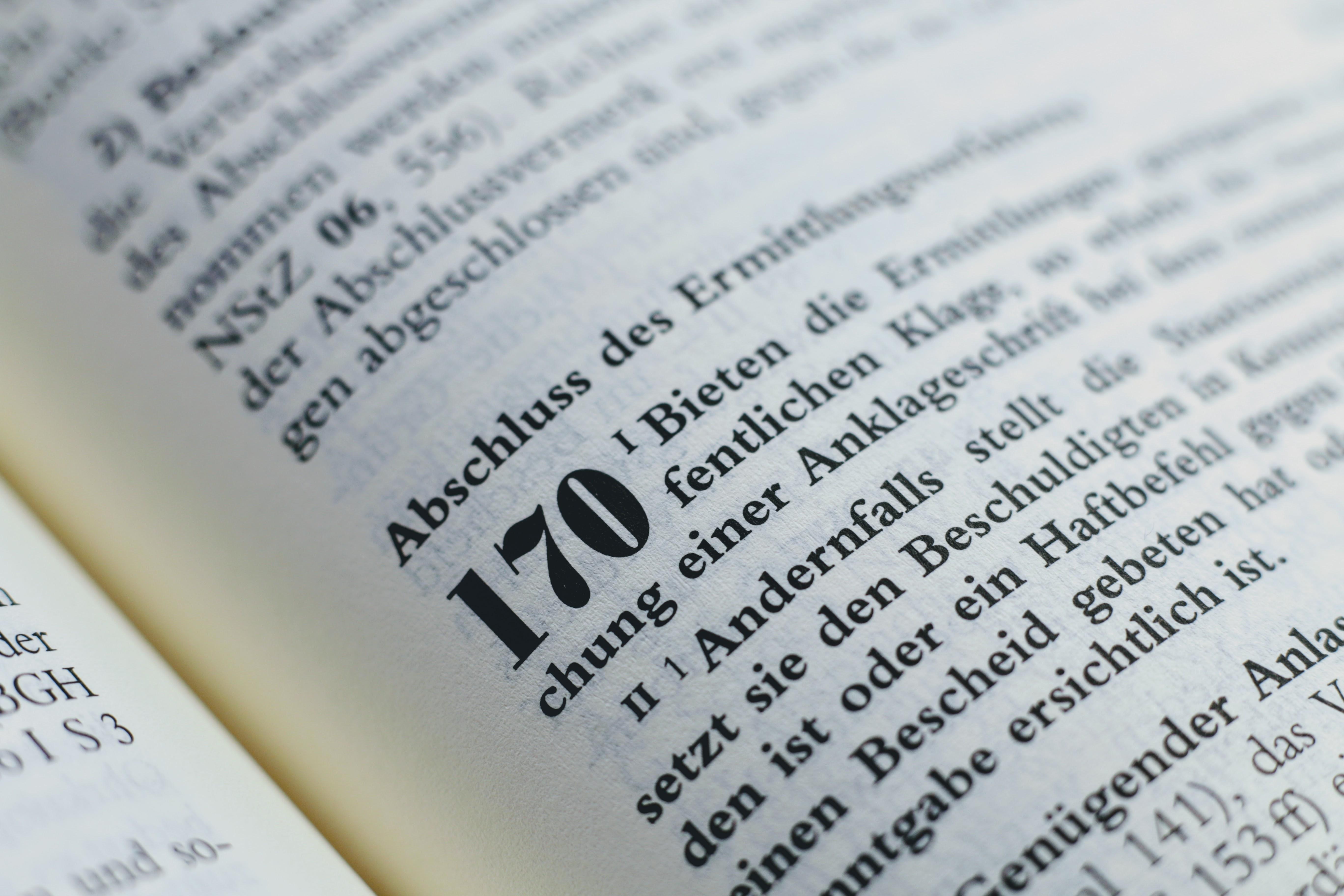 § 170 StPO Abschluss des Ermittlungsverfahrens Gesetz